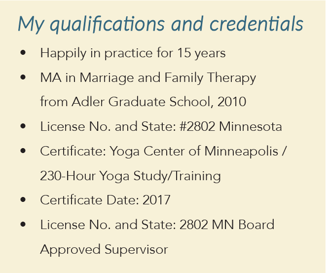 Ttherapy qualifications